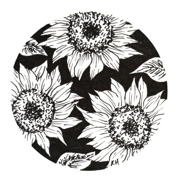 sunflowers-no-background
